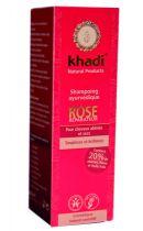 Shampooing ayurvédique Rose 210ml Khadi