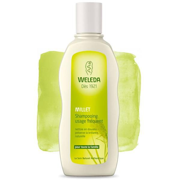 Shampooing Doux Usage Fréquent Millet 190Ml