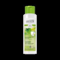 Shampooing fraicheur anti cheveux gras vegan 250ml Lavera