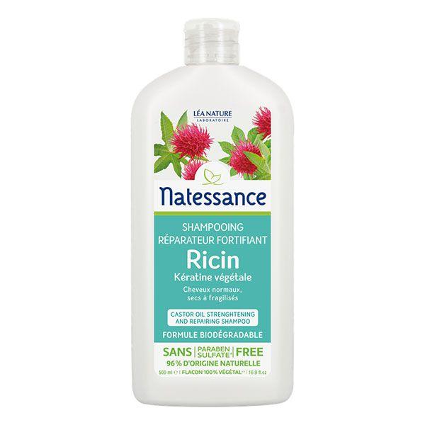 Shampooing Huile De Ricin 500Ml Bio