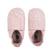 Soft Soles Chaussons Cherry Blossom Rose Bobux