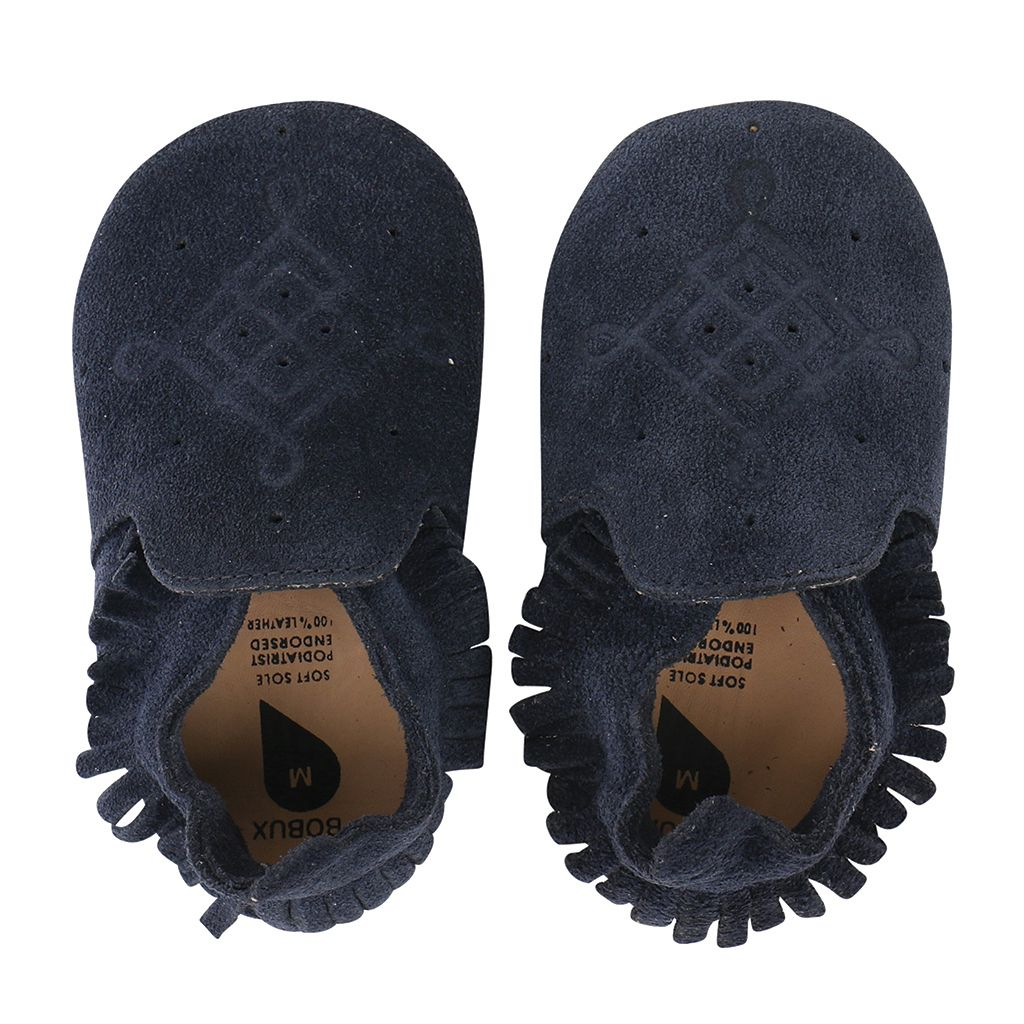 578f205530be Soft Soles Suede Moccasin Rose Bobux. Loading zoom