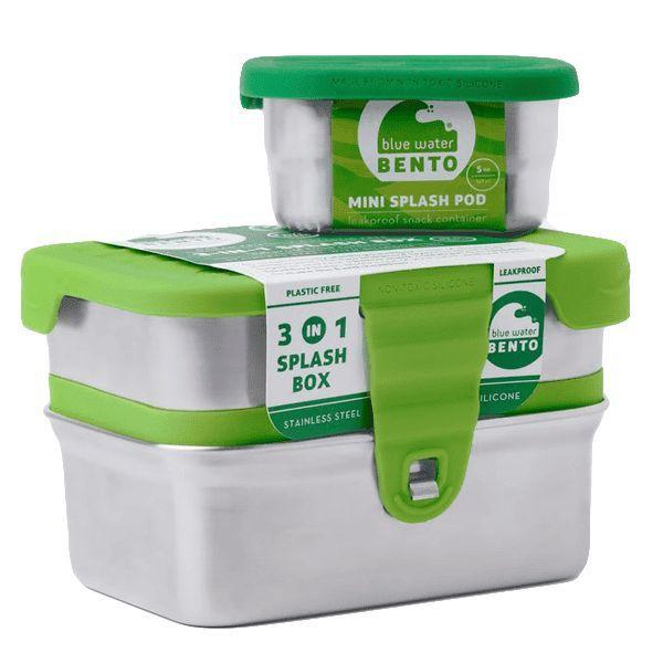 Splash Box 3-en-1 Inox Ecolunchbox