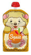 Squiz reusable food pouch Bear 130ml