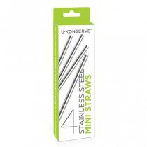 Stainless Steel Straws 2 Pack U-Konserve