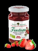 Strawberry Jam Organic 250G Fiordifrutta