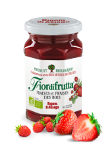 Strawberry Jam Organic 250G Fiordifrutta