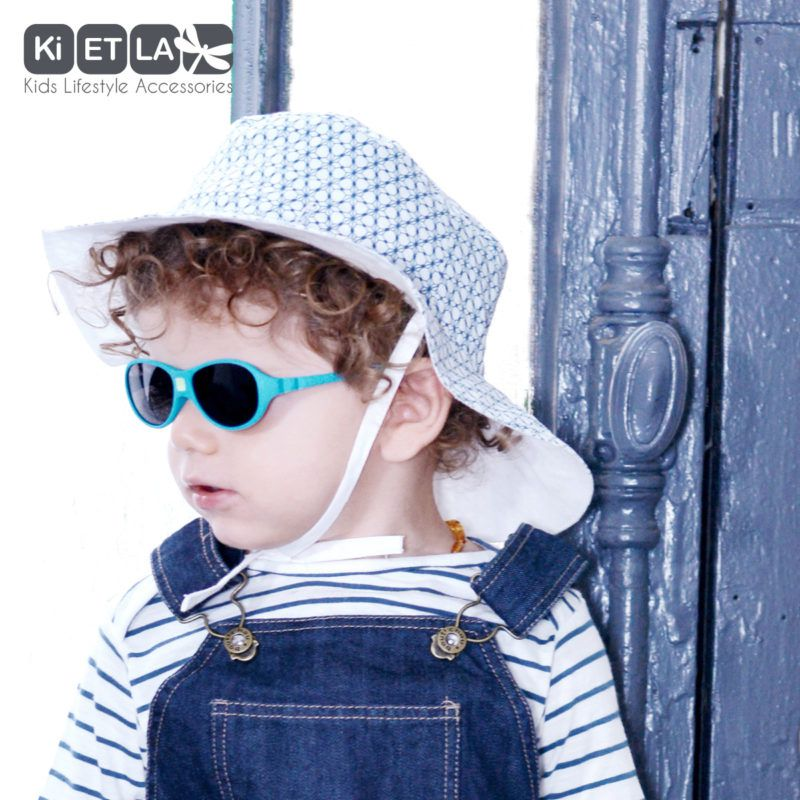 Sunglasses Diabola 0-18M Blue Duck Ki et La