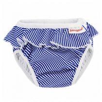 Swim Diaper White/blue stripes Imse Vimse