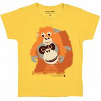 T-Shirt Korte Mouwen Stokstaartje Coq en Pâte