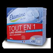 Tablettes Lave-Vaisselle Tout en 1 30p Etamine du Lys