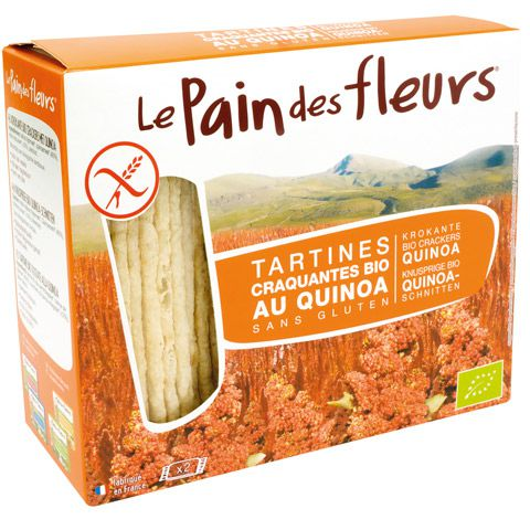 Tartines Craquantes Quinoa 150G Pain des Fleurs