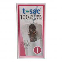 Tea Filters T-Sac 100 Pieces