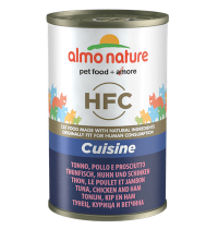 Thon poulet jambon chat 140g Almo Nature HFC