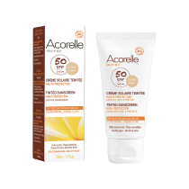 Tinted Sunscreen SPF30 Gold 50ml Acorelle