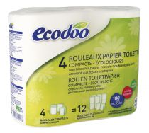 Toiletpapier 4 Rollen Ecodoo