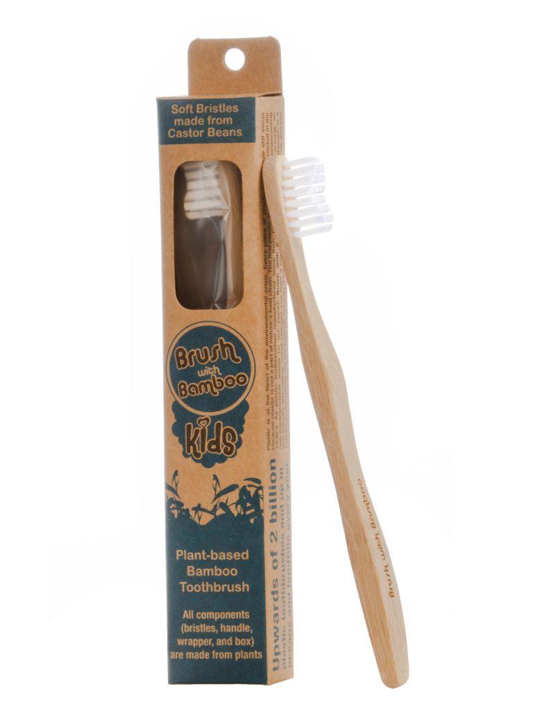 Tooth Brush Kids Brush With Bamboo