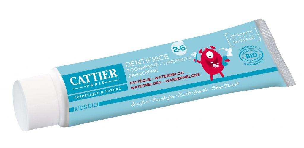 Toothpaste 2-6 years Raspberry 50ml Cattier