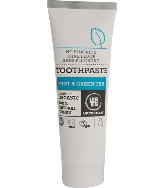 Toothpaste Mint Groen Tea Urtekram