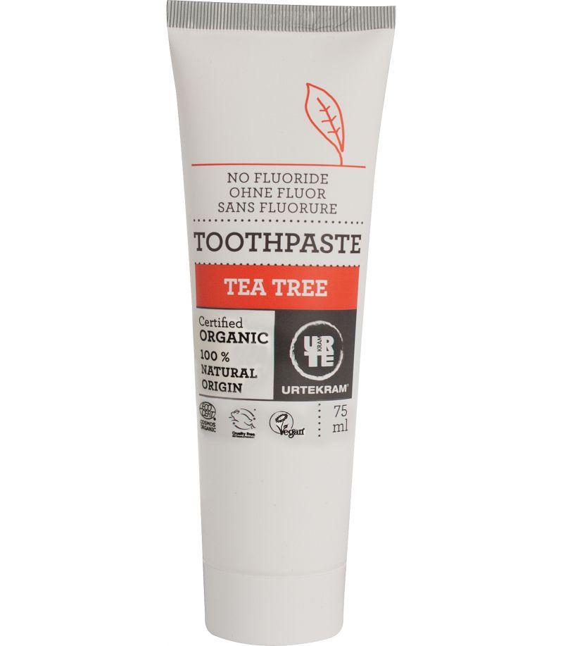 Toothpaste Tea Tree Urtekram