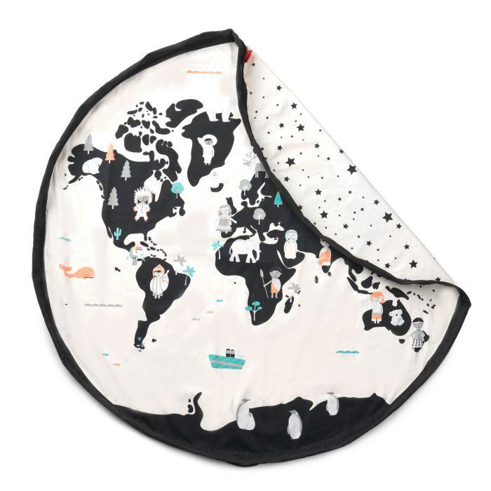 Trainmap Bears Toy Storage Bag Play & Go