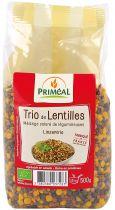 Trio De Lentilles Bio 500G