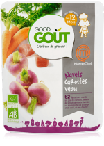 Turnips carrots veal Masterchef 220g from 12m END DATE 26/01/18