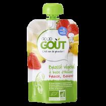 Vegan Yoghurt Peer Amandel 90g 6M Good Gout