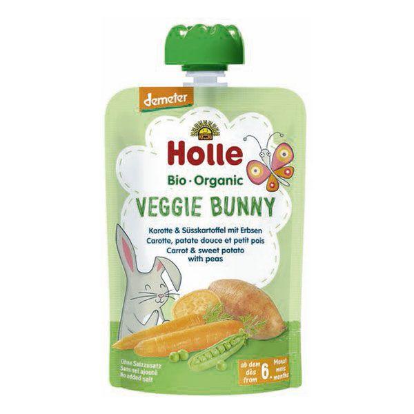 Veggie Bunny Gourde Carotte Patate Douce Petit Pois Holle