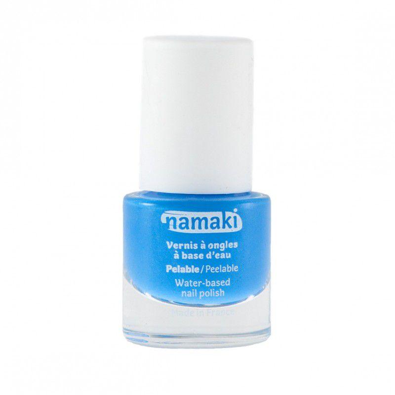 Vernis à ongles pelable à base d\'eau Bleu Ciel Namaki