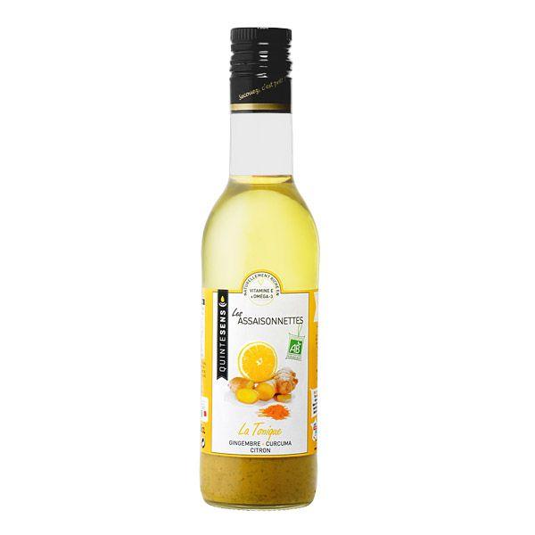 Vinaigrette La Tonique Ginger Curcuma Lemon Bio 36Cl Quintesens