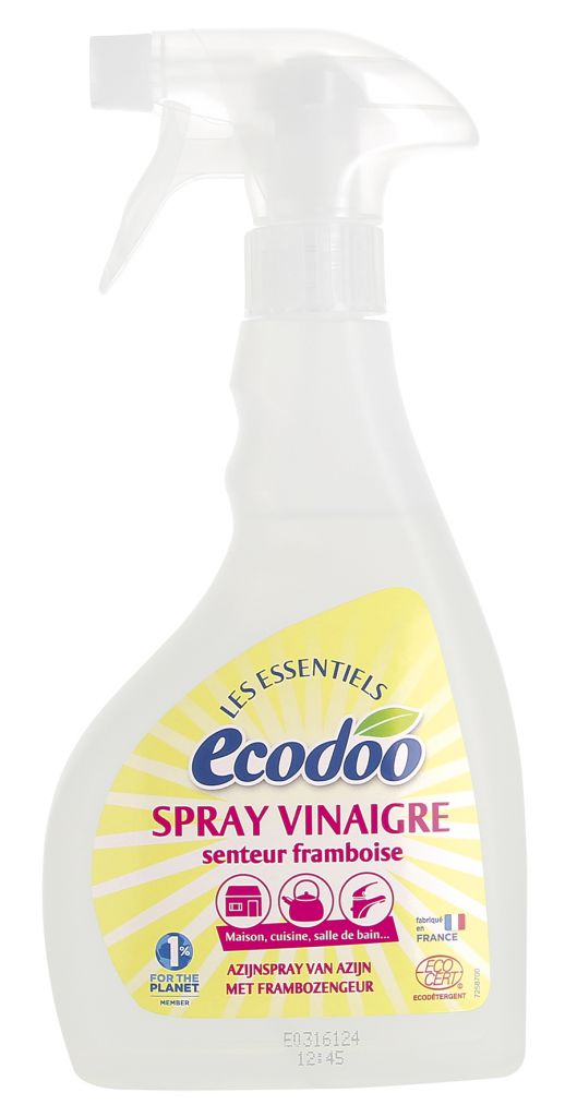 Vinegar Spray Raspberry 500Ml Ecodoo