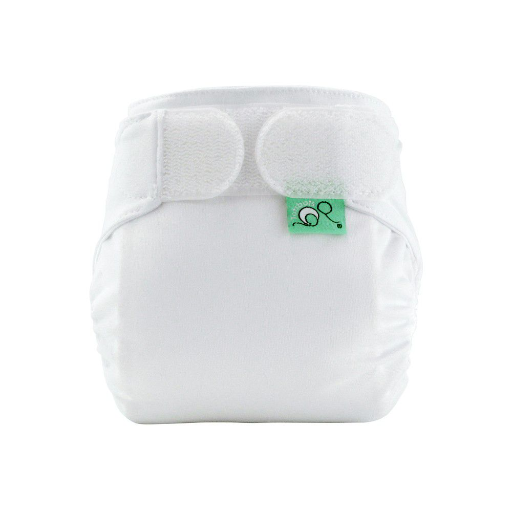 Washable Nappy Easyfit V4 All-In-One White Tots Bots