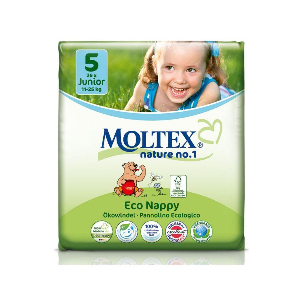 Wegwerpluiers Maxi 4 7-18kg 30 stuks Moltex