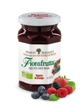 Wildberries Jam Organic 250G Fiordifrutta