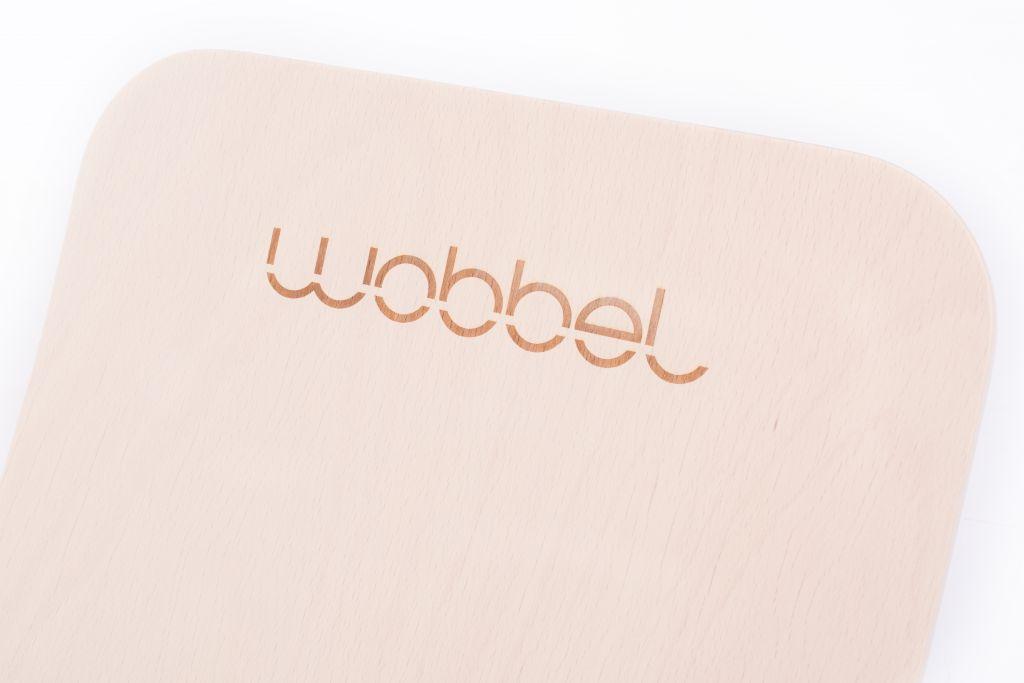Wobbel Original Lasuré Blanchi Sans Feutrine