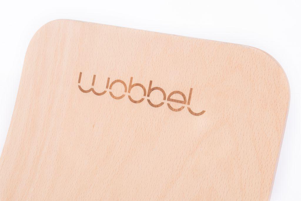 Wobbel Original Transparent Feutrine Gris Souris