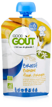 Yoghurt Banaan oranjebloesem 90g vanaf 6 maand VERVALDATUM 05/01/18