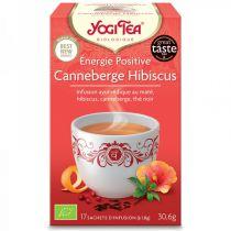 Yogi Tea Énergie Positive Bio 17 Sachets DLU 31/05/18