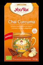Yogi Thé Chaï Curcuma bio 17 sachets