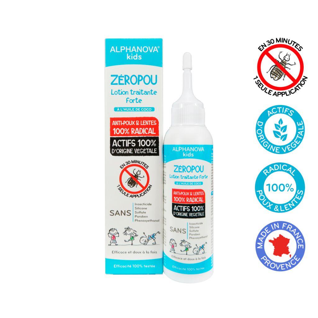 Zeropou Spray Anti-Poux Bio 50Ml Kids DLU 31/07/18