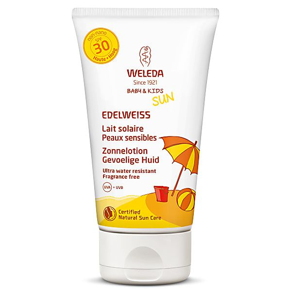 Zonnelotion Edelweiss SPF30 150ml Weleda