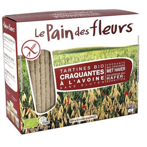 Zwarte Rijst Crackers Bio Zonder Gluten 150G Pain Des Fleurs